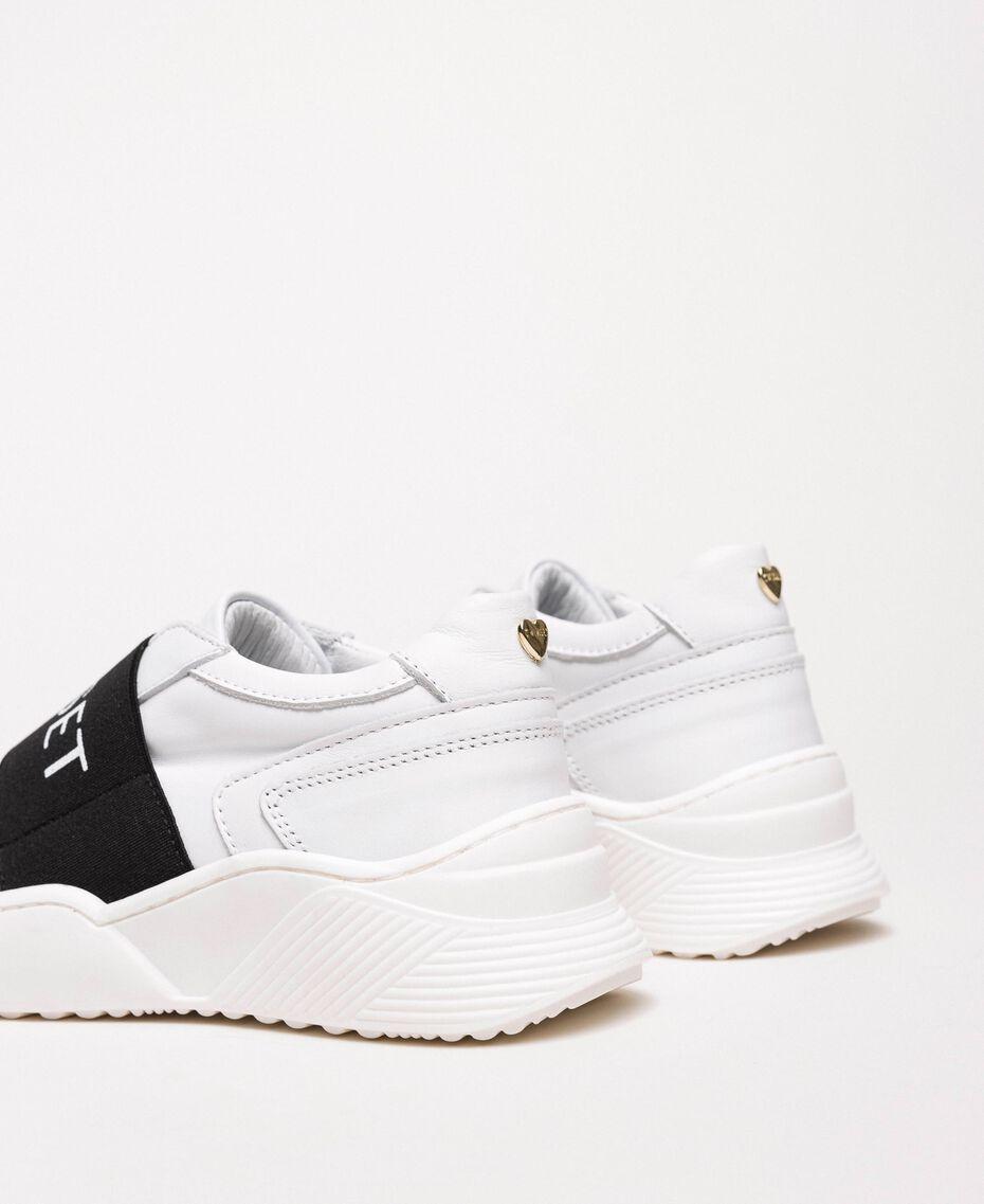 Zapatillas de running con logotipo Blanco Niño 201GCJ024-03