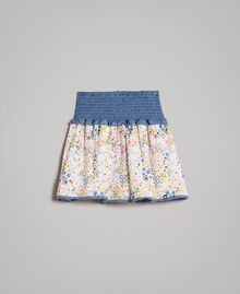 Gonna-top in mussola con stampa Stampa Stelline Bambina 191GJ2532-01