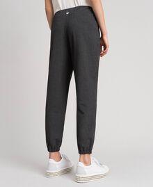 Jogging trousers Dark Gray Mélange Woman 192LI2SDD-04