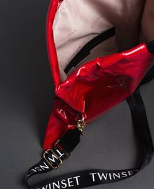 Большая складная сумка-шоппер из искусственной кожи Красный Гранат женщина 192TA7173-06