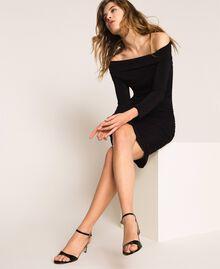 Sandales à talons en cuir Rose Bouton Femme 999TCT012-0S