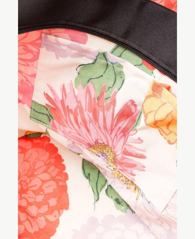 TWINSET Tasche aus Stroh Multicolor Provocateur Pink / Orange / Schwarz Frau OS8THB-04