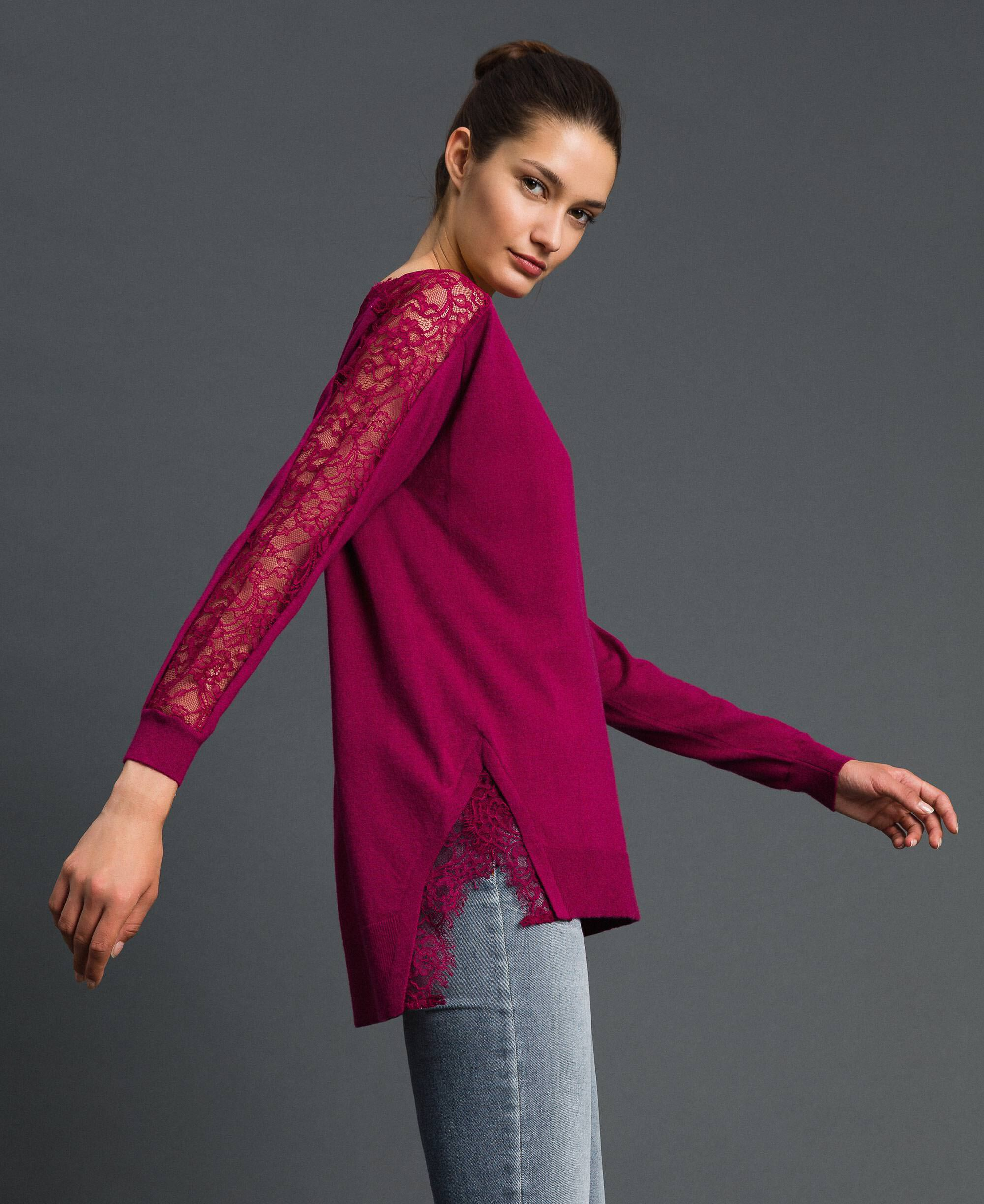 Twinset Maglia Beet Red