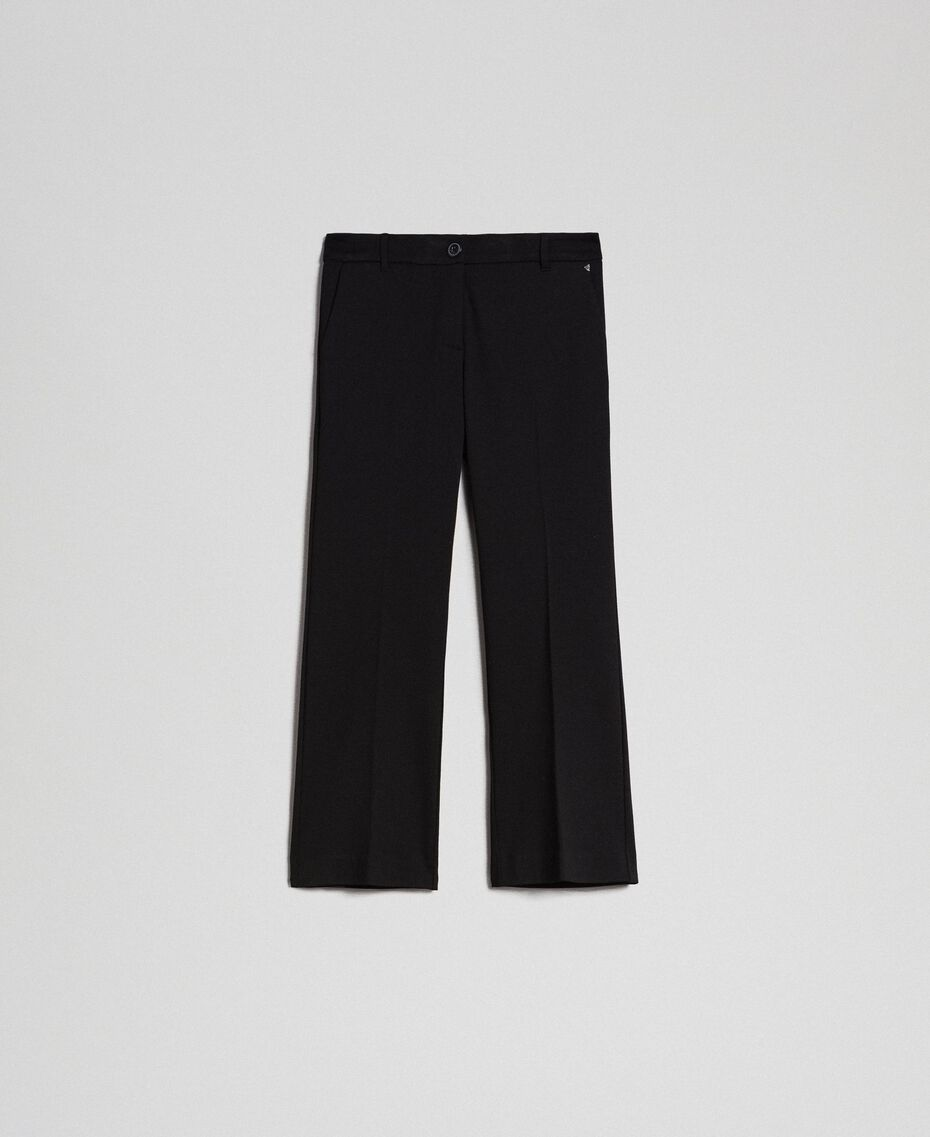 Расклешенные брюки Белый Снег женщина 192TP2092-0S