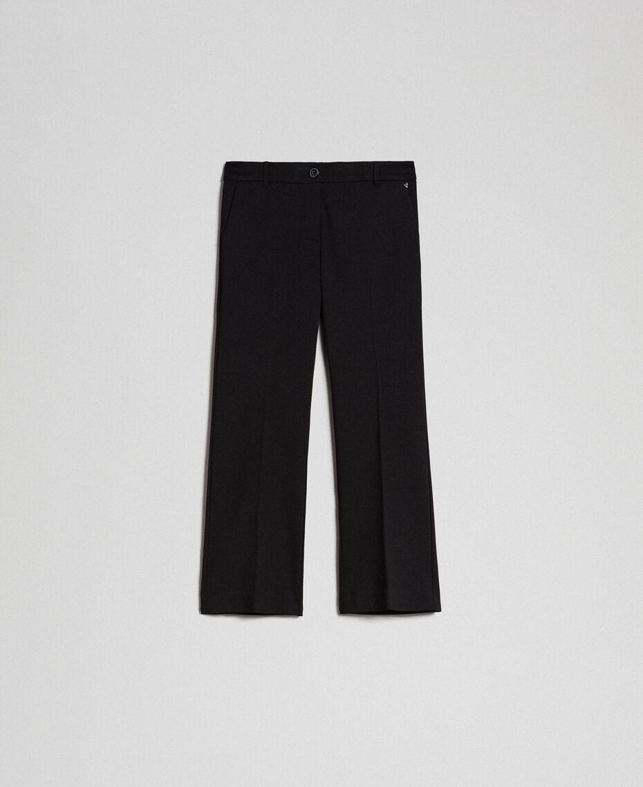Pantalon évasé Noir Femme 192TP2092-0S