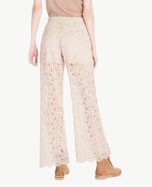 Lace palazzo pants Rope Woman SS82LH-03