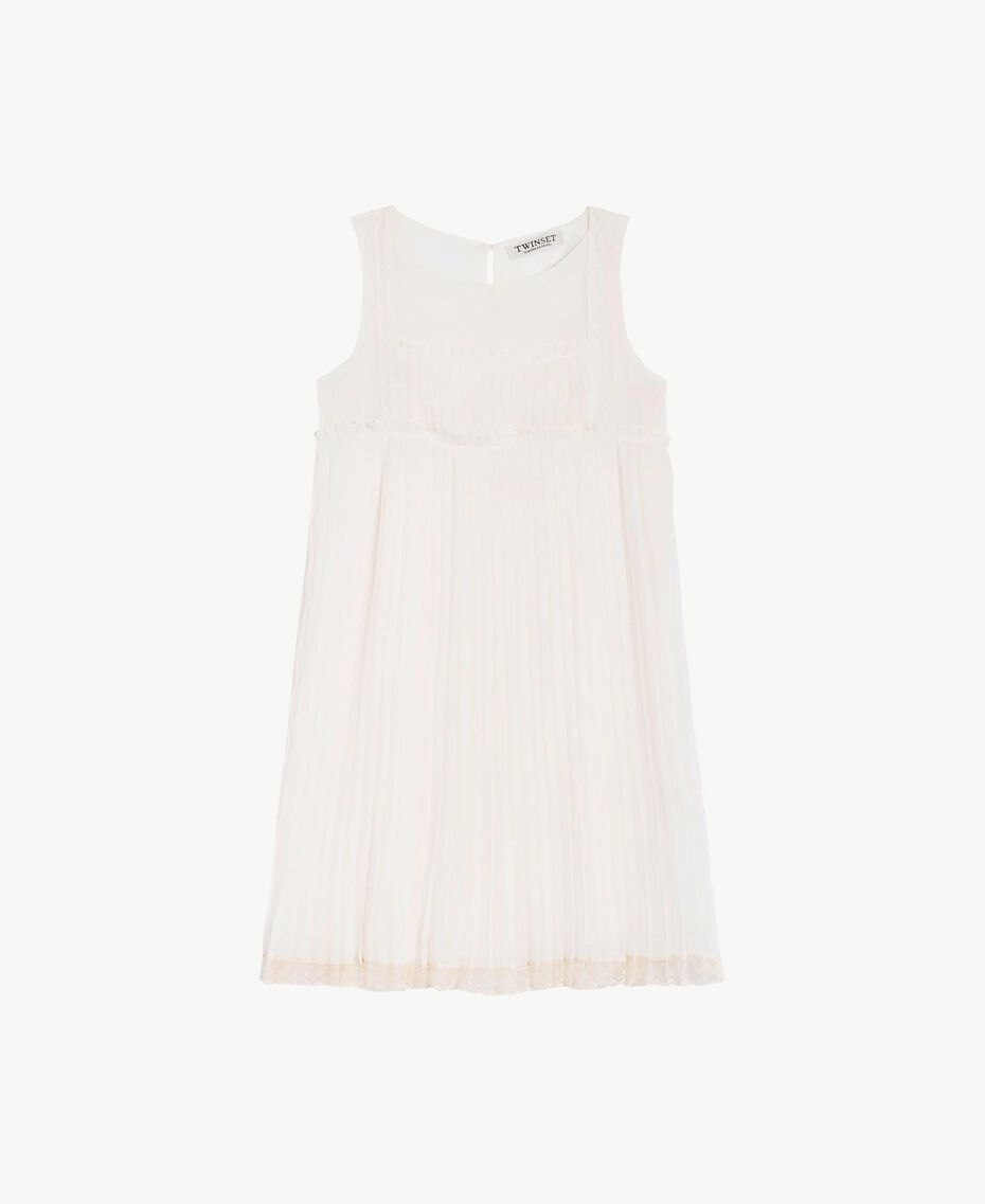 Kleid mit Plissee Chantily Kind GS8LDP-01