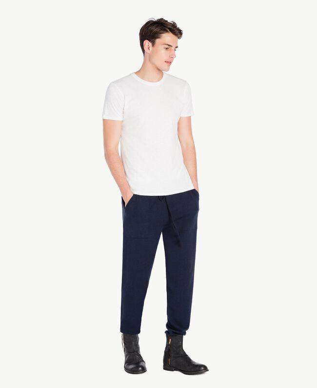 T-Shirt aus Baumwolle Weiß Männlich UA72FA-01