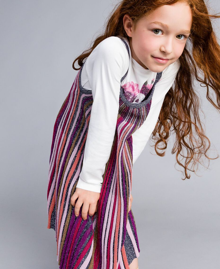 Robe en lurex multicolore Multicolore Lurex Enfant GA83KP-0S
