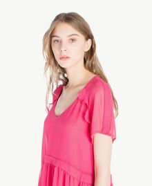 Georgette dress Provocateur Pink Woman TS82WB-04