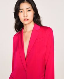 Satin blazer Wild Rose Woman 201MT2031-05