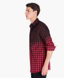 Camicia check Rosso / Nero UA72E1-02