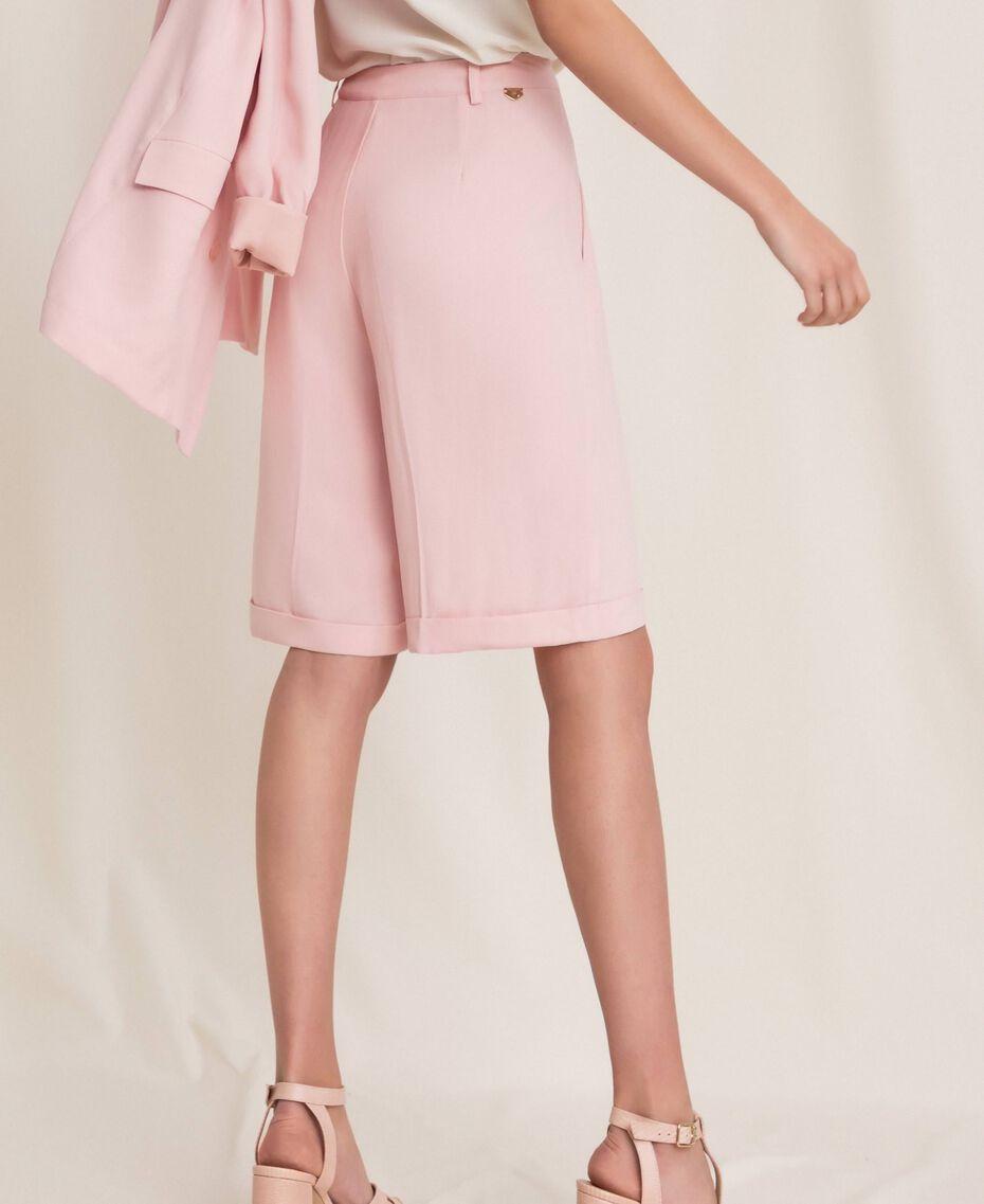 "Georgette Bermuda shorts ""Ace"" Orange Woman 201LL2NDD-03"