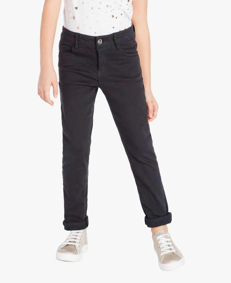 Skinny trousers Black Child GS82CP-02