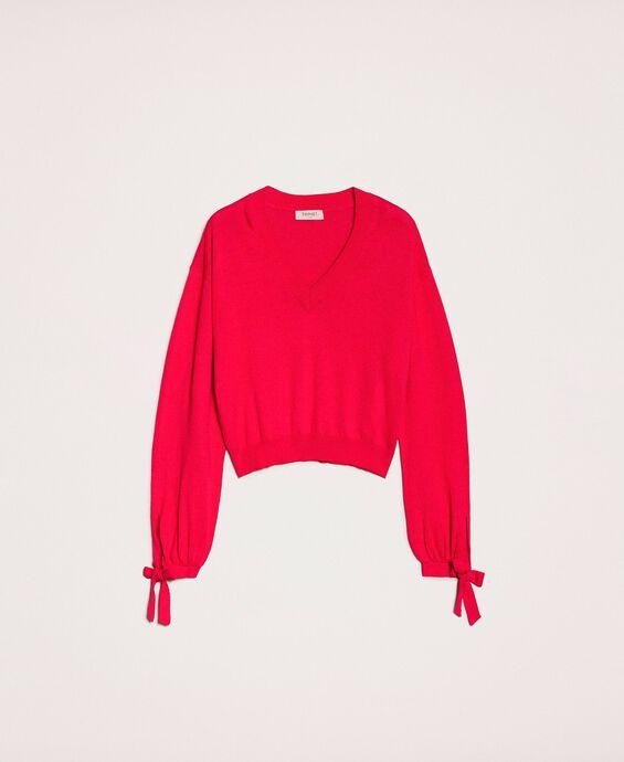 Kastiger Pullover aus Kaschmirmischung