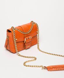 "Small Rebel leather shoulder bag ""Jasper"" Red Woman 999TA7237-02"