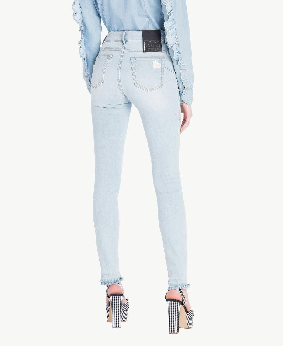 Skinny jeans Denim Blue Woman JS82WM-03