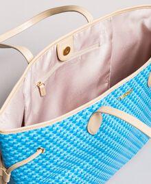 Shopper mit Schmetterlingsprint Motiv Pearl Pink Schmetterlinge Frau 191TA7172-04