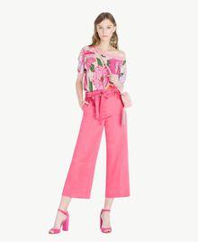 TWINSET Sandales daim Pink Provocateur Femme CS8TDU-05