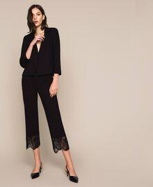 Lace blazer Black Woman 201TP212B-0T