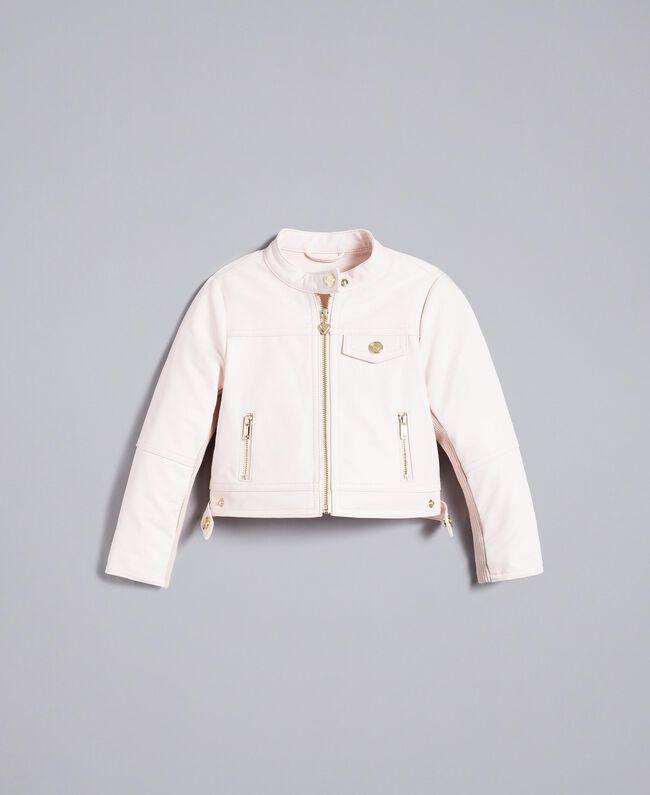 Veste en similicuir Rose «Blush» Enfant FA82BA-01