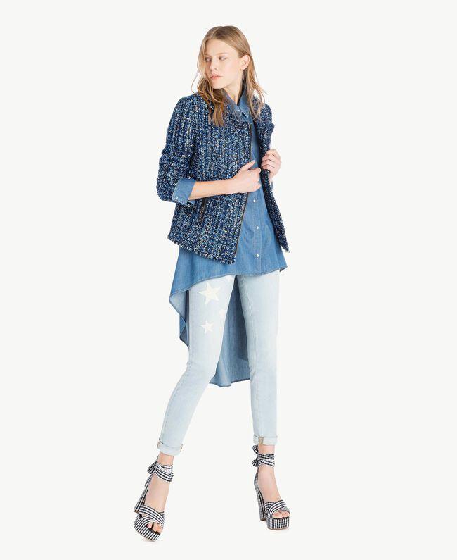 Jean skinny Bleu Denim Femme JS82WM-05