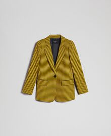 Houndstooth Lily Houndstooth / Creme Caramel Woman 192MT2050-0S