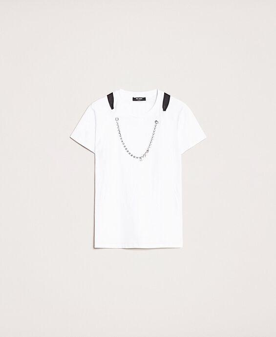 T-Shirt mit Chatonkette