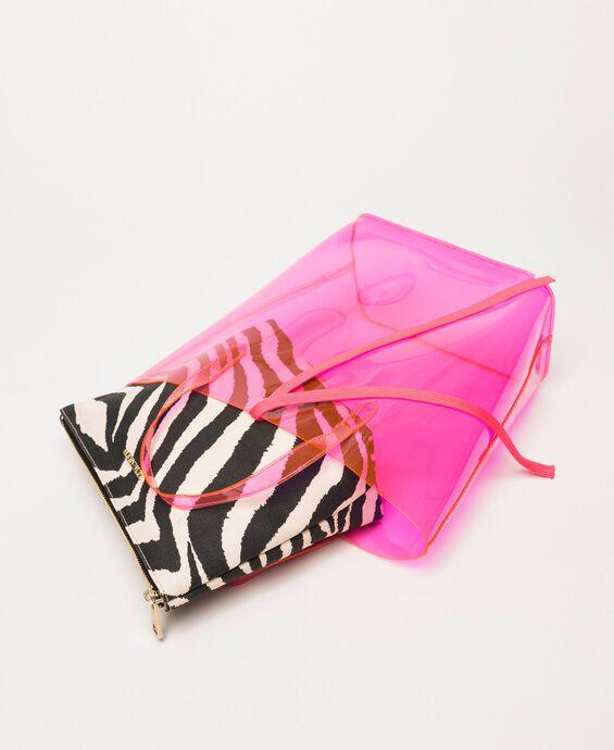 PVC bag with pochette