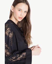 Robe dentelle Noir Femme SS82J5-04