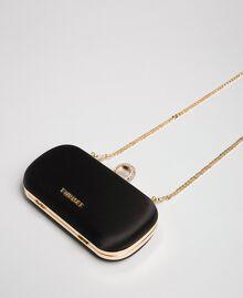Атласная сумка-пошет Черный женщина 192TQ706A-02