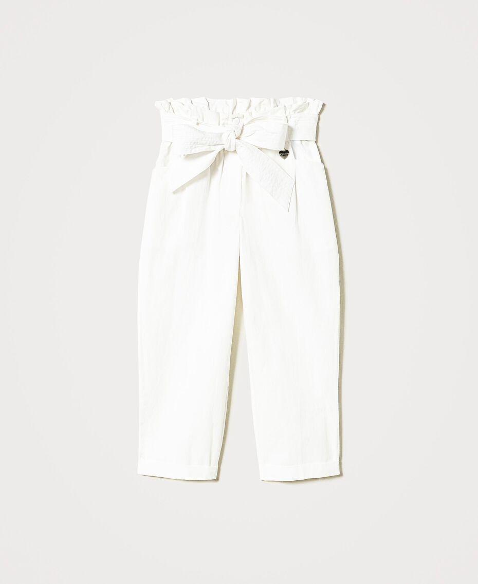 Poplin trousers Off White Child 211GJ2234-0S