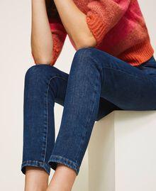 "Eco friendly push-up jeans ""Mid Denim"" Blue Woman 202MP2511-05"