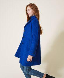 Пальто из сукна Темно-васильковый Pебенок 202GJ2840-02