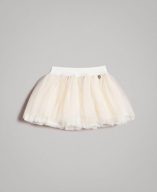 Tulle skirt Pale Cream Child 191GB2700-01