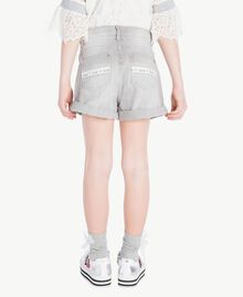 Denim shorts Light Grey Denim Child GS82FN-04