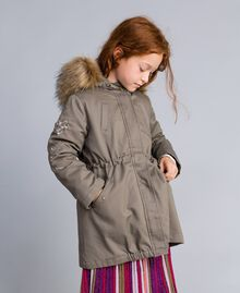 Parka aus Canvas Olive Kind GA82A1-0S