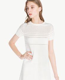 Viscose dress Light Ivory Woman PS8362-04