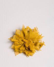 "Seidenblumen-Brosche ""Honey Gold"" Frau 191TO5344-01"