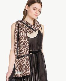 Bufanda con animal print Estampado Mácula Mujer AS8P3G-02
