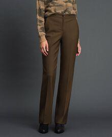 "Technical wool trousers ""Colonial"" Green Woman 192TT2450-02"