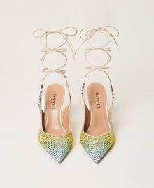 Zapatos de salón recubiertos de strass «Strass Rainbow» Mujer 211TCT092-05