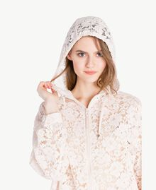 Lace parka Pale Ecru Woman PS82XF-04