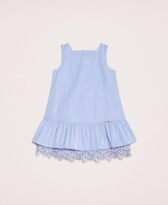 Taffeta and lace dress