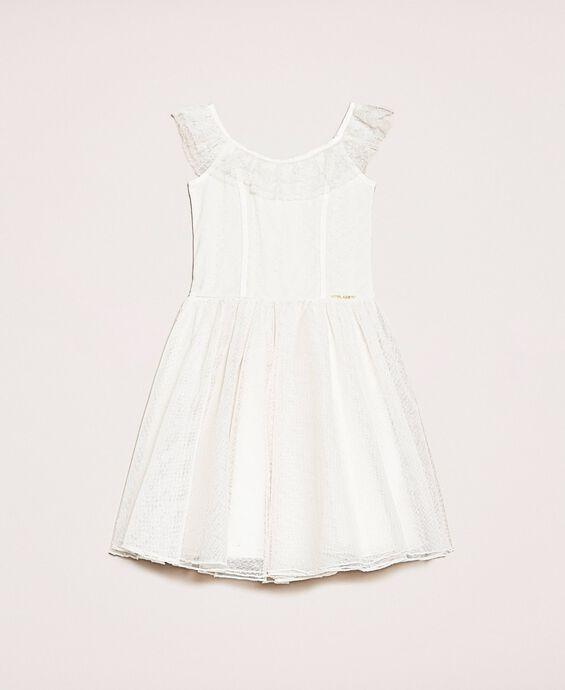 Платье из расшитого тюля