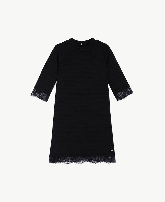 Lace dress Black IA7SAA-01