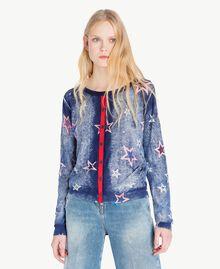 Stars cardigan Star Print Woman JS83NA-03