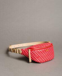"Butterfly print bum bag ""Ruby"" Red Butterflies Print Woman 191TO8211-01"