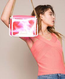 Bea Bag en PVC avec chaîne à bandoulière Fuchsia Fluo Femme 201TO8200-0T