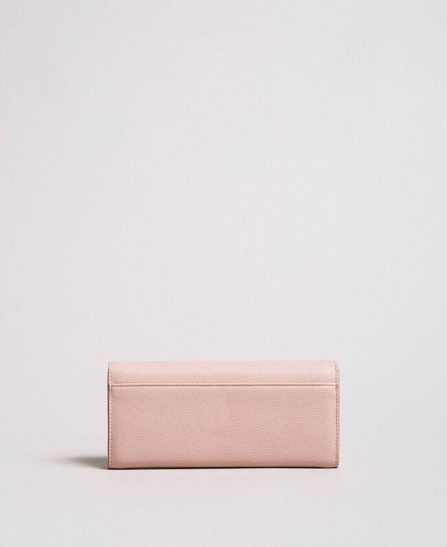 """Geldbörse aus Kunstleder mit Nieten """"Surreal Pink"""" Frau 191MA7144-03"""